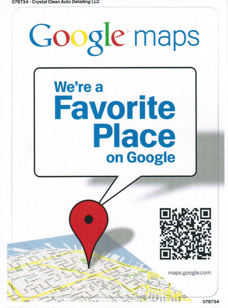 Favoriteplacecard